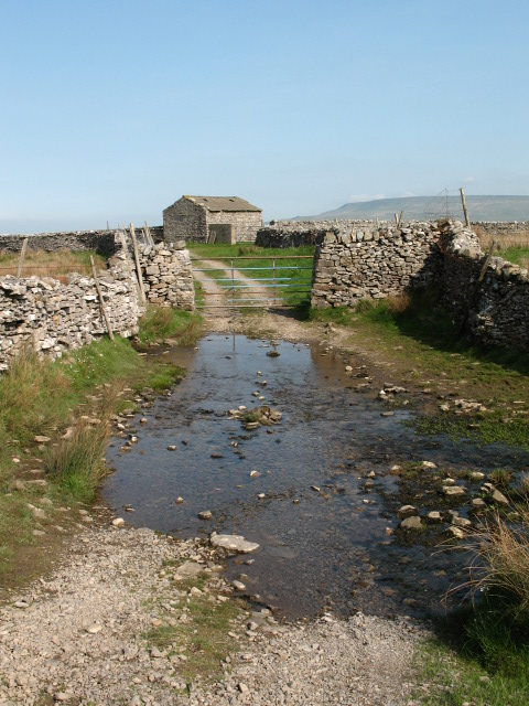 West Beck ford near Thornton Rust