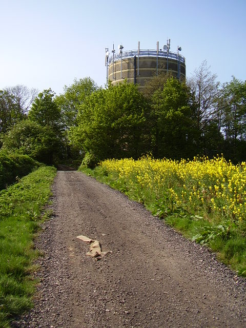 Water Tower from the Byway