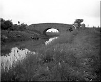 SU1160 : Woodborough Fields Bridge, Kennet and Avon Canal by Dr Neil Clifton