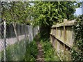 SJ6949 : Footpath into Wybunbury by Ian Bottomley