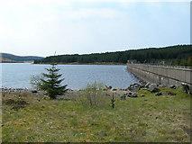NX4398 : The Bradan Dam by Mary and Angus Hogg
