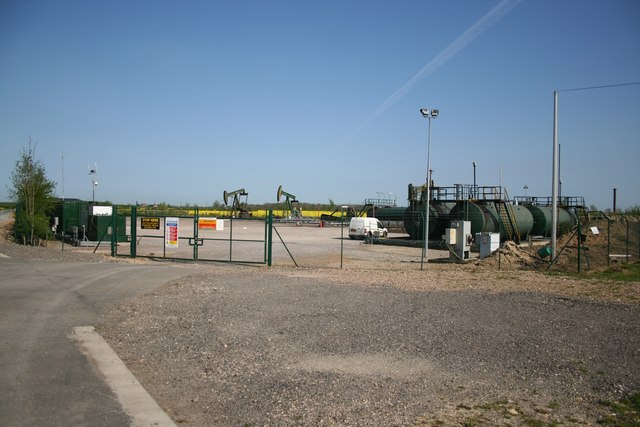 Wetmoor Lane oil well