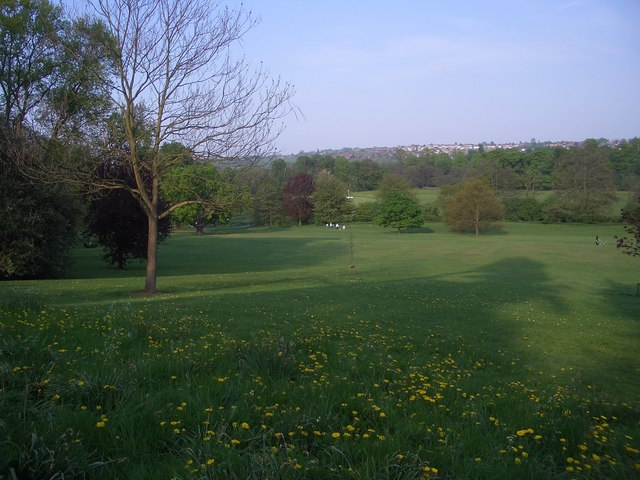 Darley Park, towards the Cricket Club