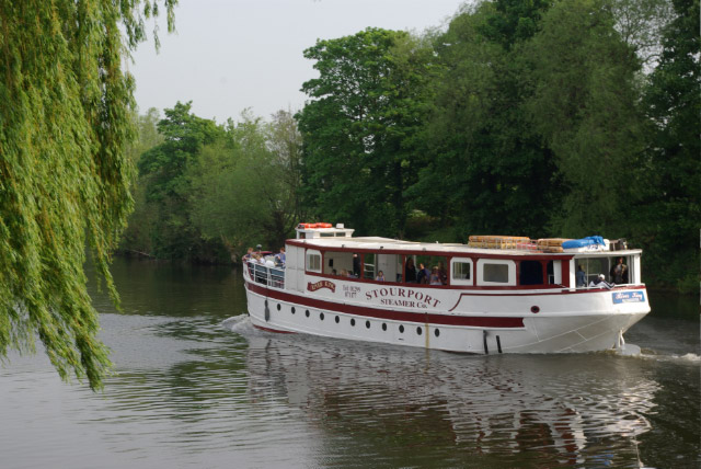 Trip Boat, Stourport on Severn