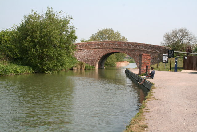 Bedwyn Wharf Bridge, Kennet  and Avon Canal