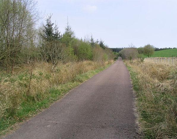 The road to Garcrogo
