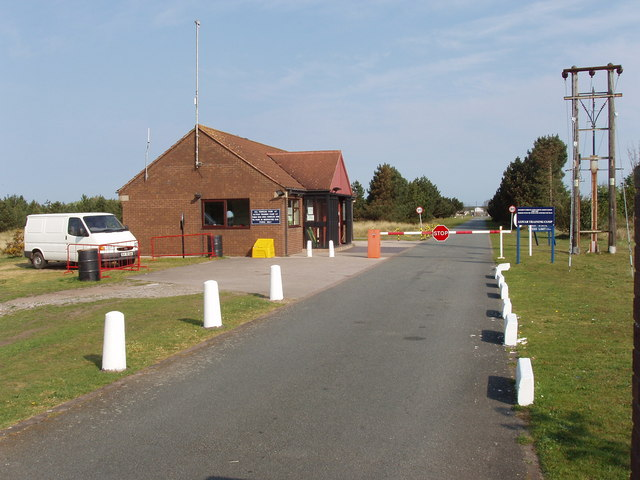 Altcar Training Camp entrance