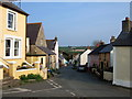 SM8432 : Trefin village street by ceridwen