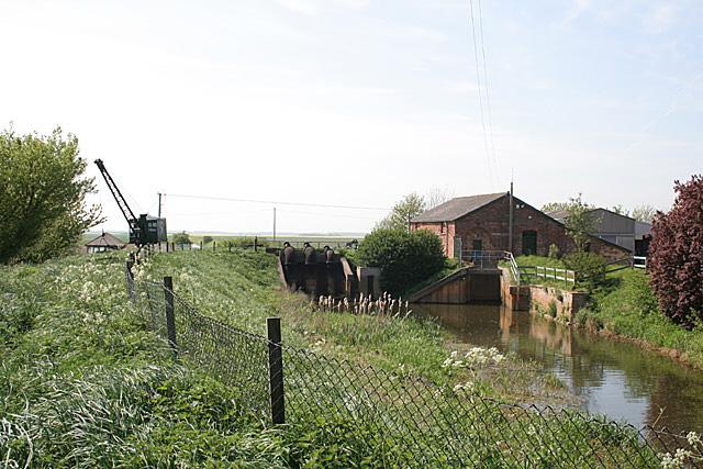 Pumping Station at Thorpe Tilney Dales