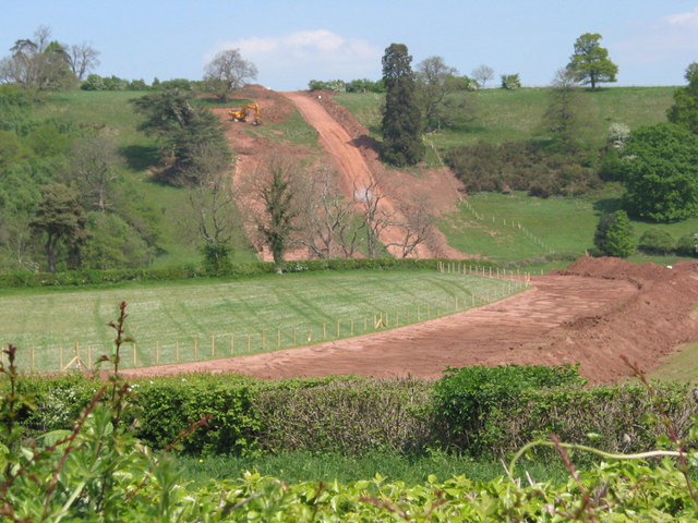 Felindre to Tirley pipeline installation north of Upton Bishop
