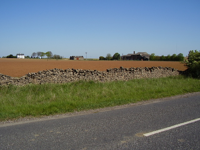 Farm buildings from B1202