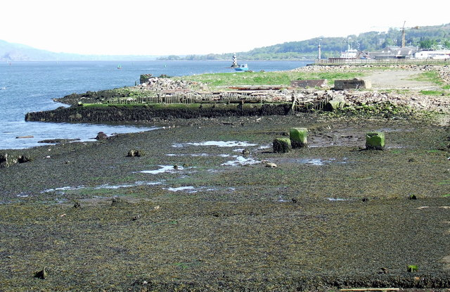 Old slipway