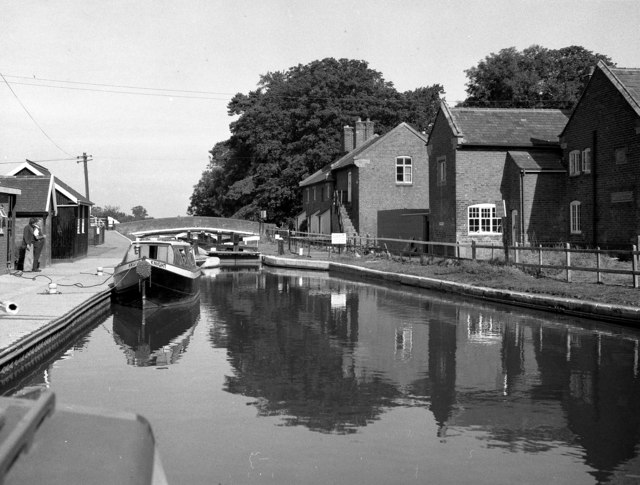 Tyrley Top Lock, Shropshire Union Canal