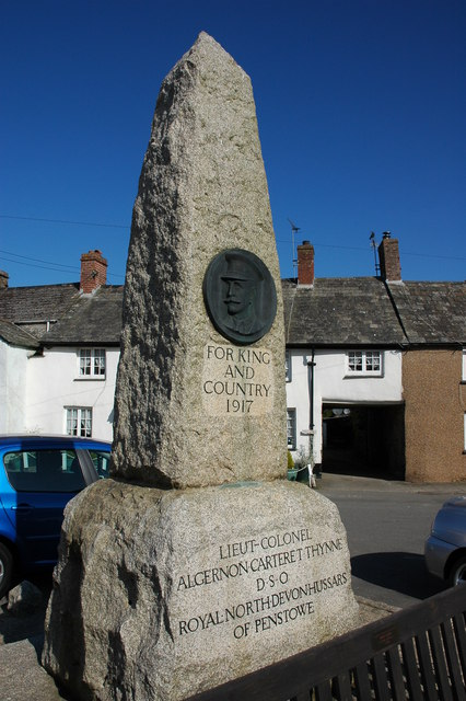 War Memorial in Kilkhampton