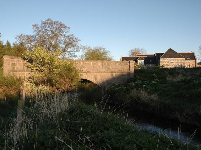 Road Bridge Near Mill of Bandley