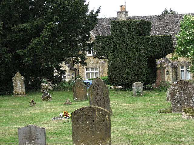 Yew Cross in St Laurence's Churchyard