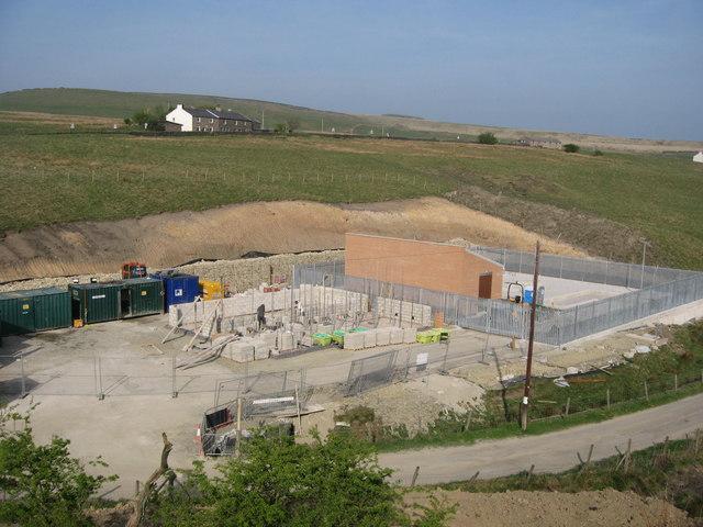 Wind Farm Substation May 2007