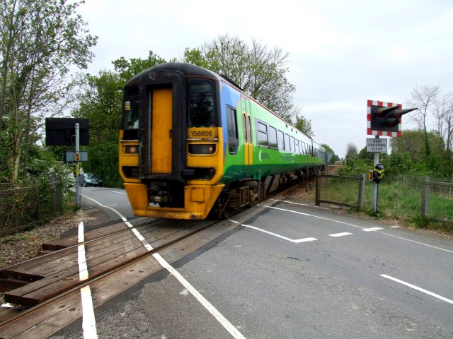 Willoughby Road Railway Crossing, Cowbridge