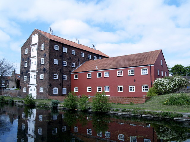 Converted Canalside Buildings