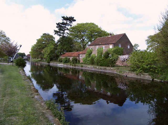 The Head of the Driffield Canal