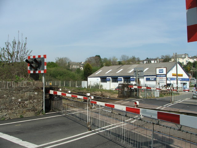 Level Crossing Lostwithiel