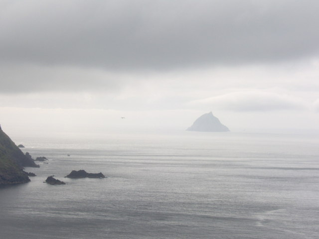 View of  Tearaght Island