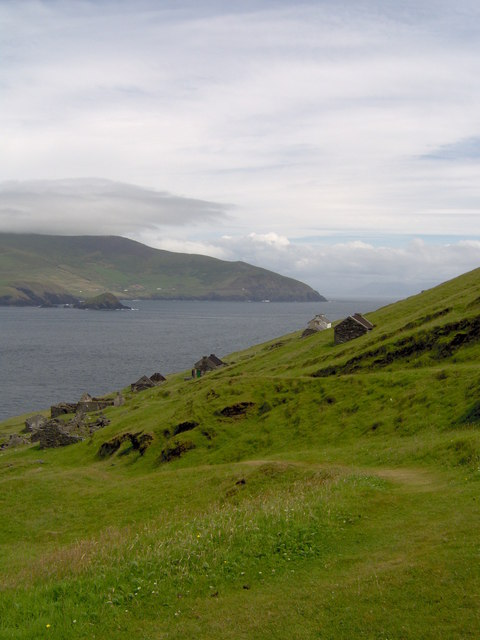 Looking South-East From East Of Great Blasket Island