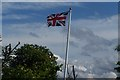 TL0134 : Union flag on a breezy day by Dennis simpson