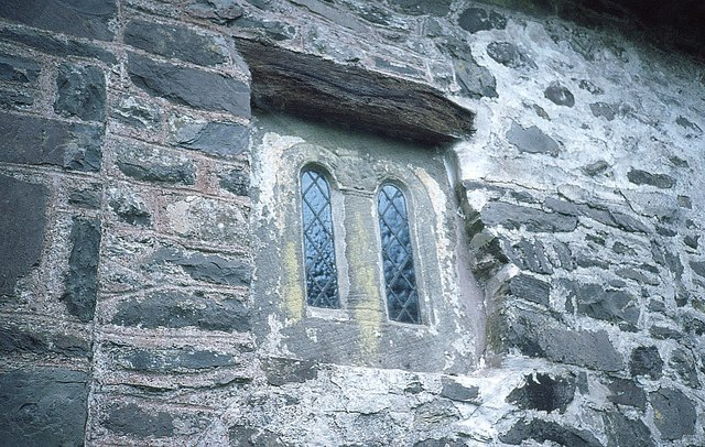 Saxon Window in Culbone Church
