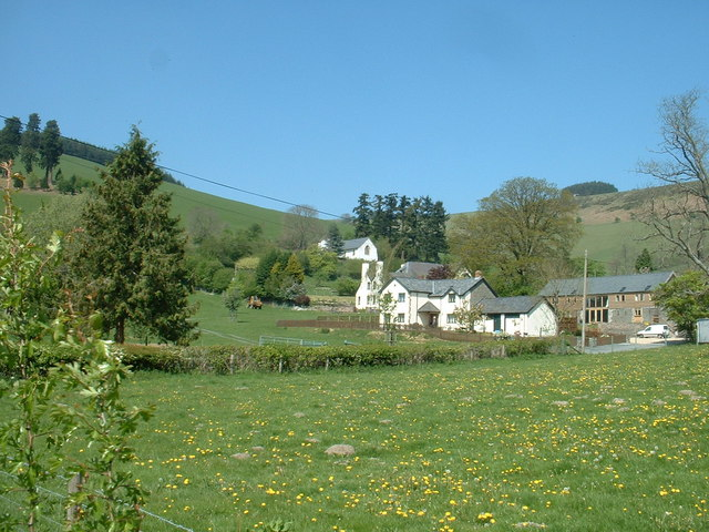 Pilleth Court and Pilleth Church