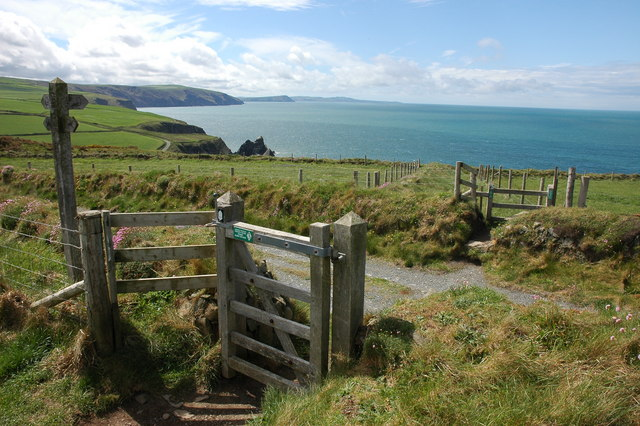 Stile on Pembrokeshire Coast Path