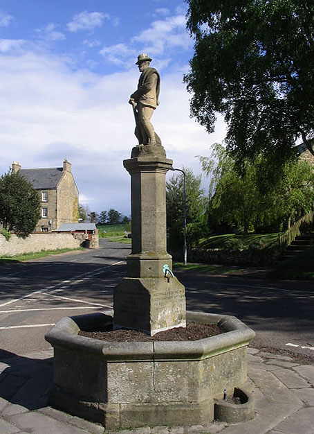 Ravensworth Statue and Fountain, Whittingham