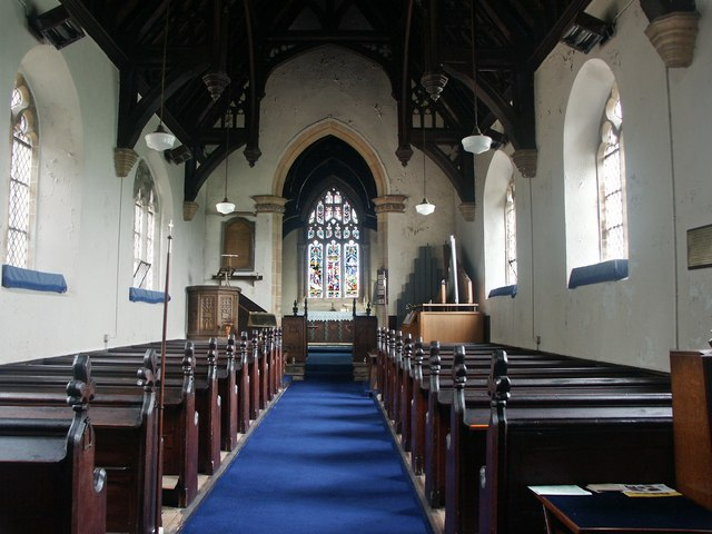 Interior of St Gilbert of Sempringham, Brothertoft