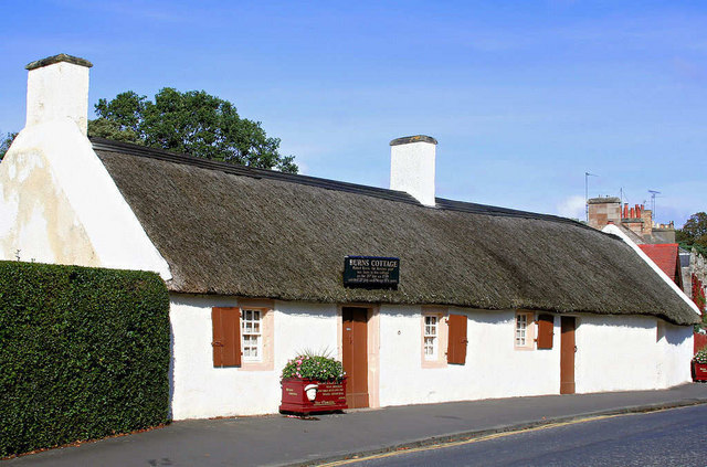 Burns Cottage, Alloway.