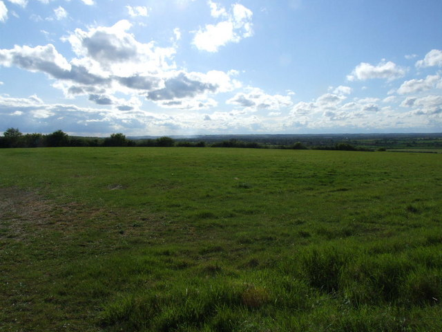 Bedfordshire is flat.  The view from Hammer Hill