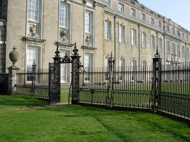 Petworth House: western facade.
