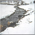NY6206 : Chapel Beck in winter by Pauline E