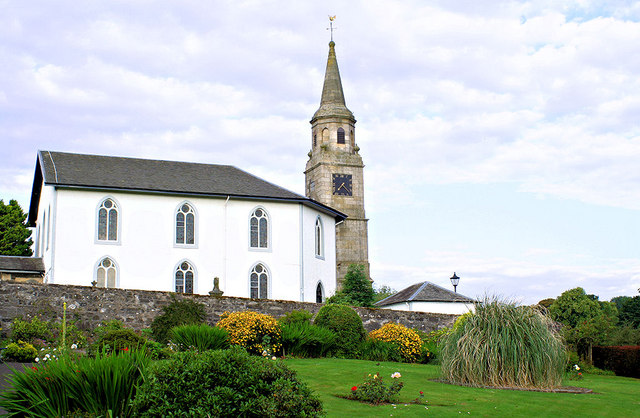 Parish Church and Clock Tower. Eaglesham