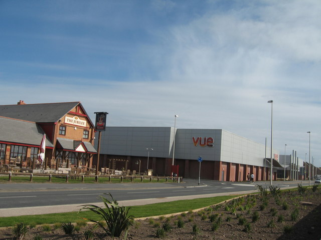 Vue Cinema and Jubilee Pub, Cleveleys © Sue Adair ...