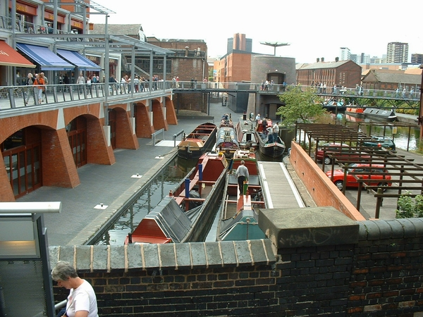 Canal basin behind the Mailbox