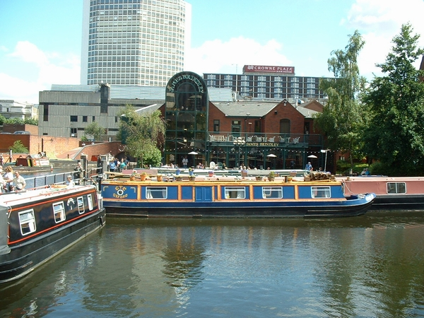 The James Brindley at Gas Street Basin