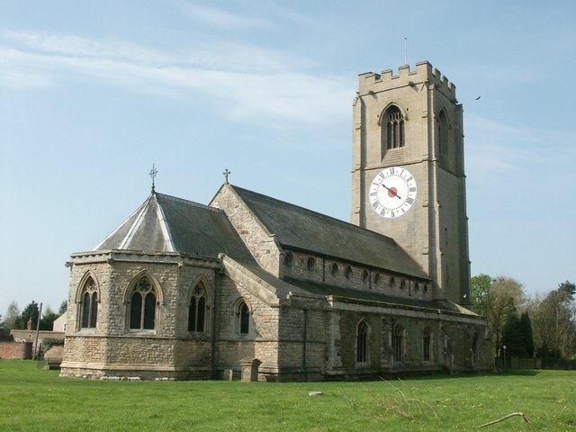 The Church of St Michael, Coningsby