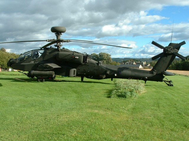Elwood HLS (Heliport) Barrasford Northumberland Apache Just Visiting