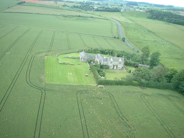 ELWOOD HLS (Heliport) Barrasford Northumberland View Looking North