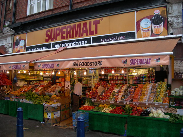 food shop on electric avenue danny p robinson cc by sa 2