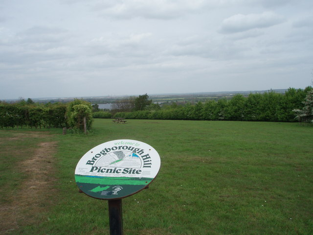 The View from Brogborough Hill