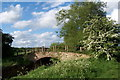 SP7033 : Old farm bridge across river Ouse, Bourton by Mark R Dornan