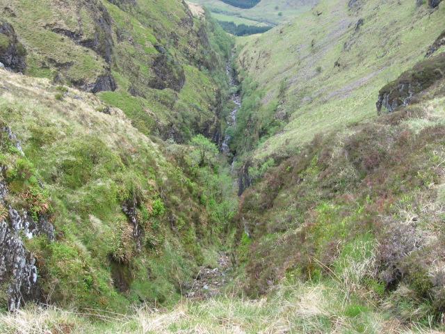 Eas an Tuirc gorge