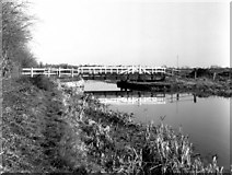 ST9160 : Seend Park Swing Bridge II by Dr Neil Clifton