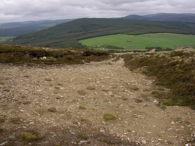 Track to the Cromdale hills